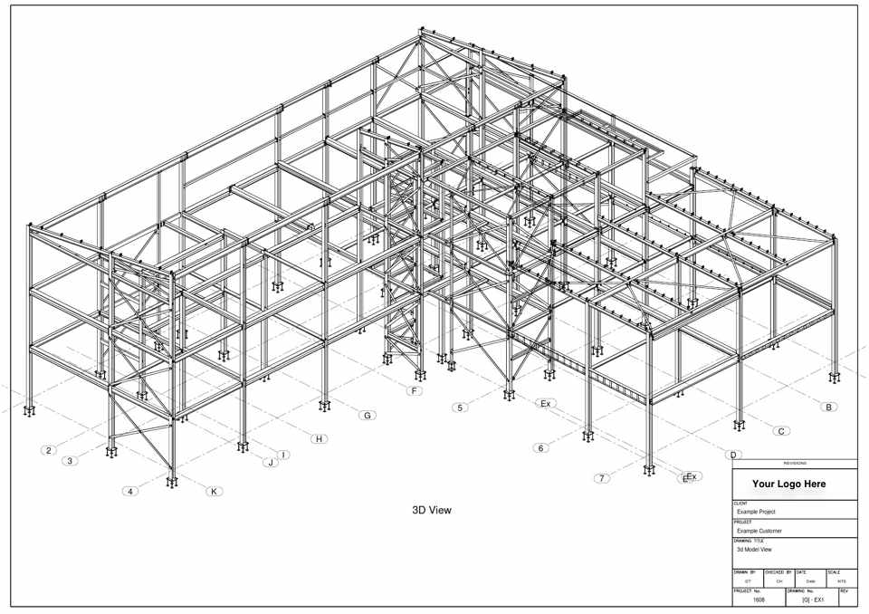 Steel Buildings Drawings Structural Steel Building